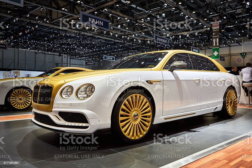 2016 Mansory Bentley Flying Spur stock photo