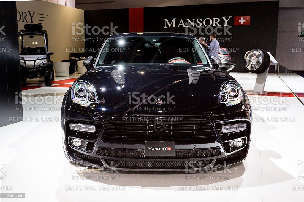 2015 Mansory Porsche Cayenne stock photo