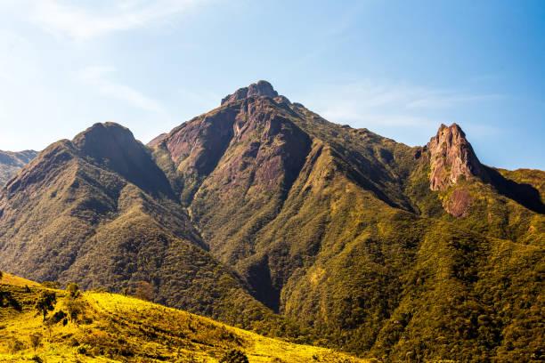 Mantiqueira range - Pico dos Marins in Brazil stock photo