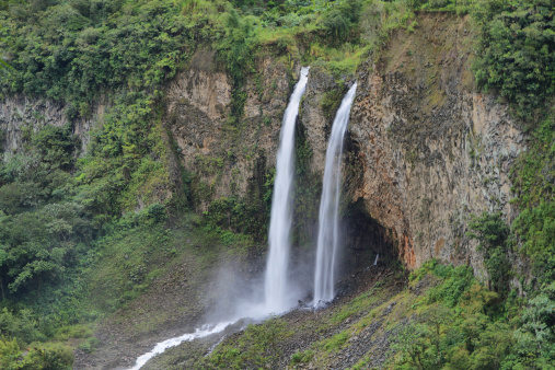 1131408581 istock photo Manto de la novia (bridal veil) waterfall 494037385