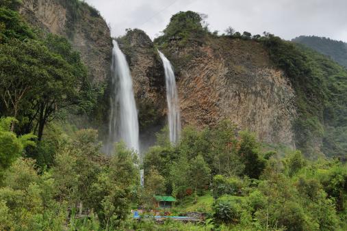 1131408581 istock photo Manto de la novia (bridal veil) waterfall 494039907