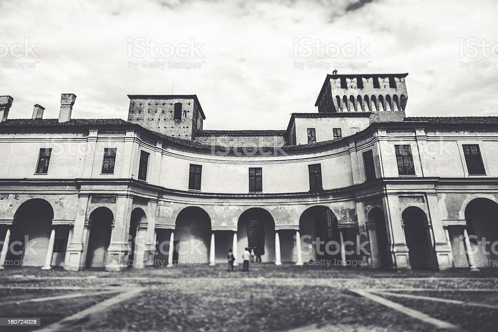 Mantova royalty-free stock photo