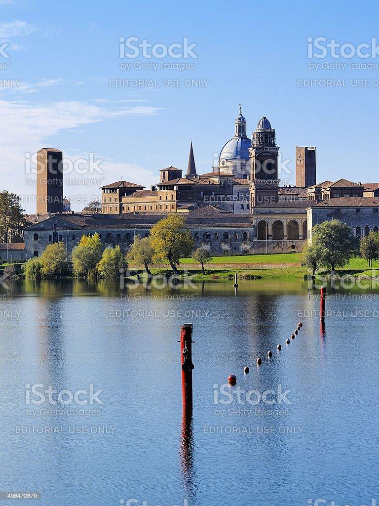 Mantua in Italy stock photo