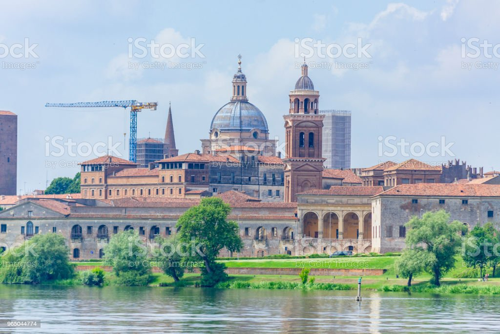 Mantua (Lombardy, Italy) in spring. royalty-free stock photo