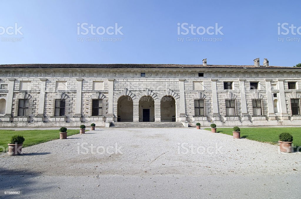 Mantoue (Italie)-Palazzo Te photo libre de droits
