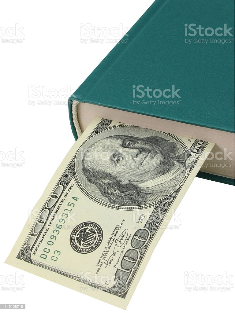 Manual of the businessman stock photo