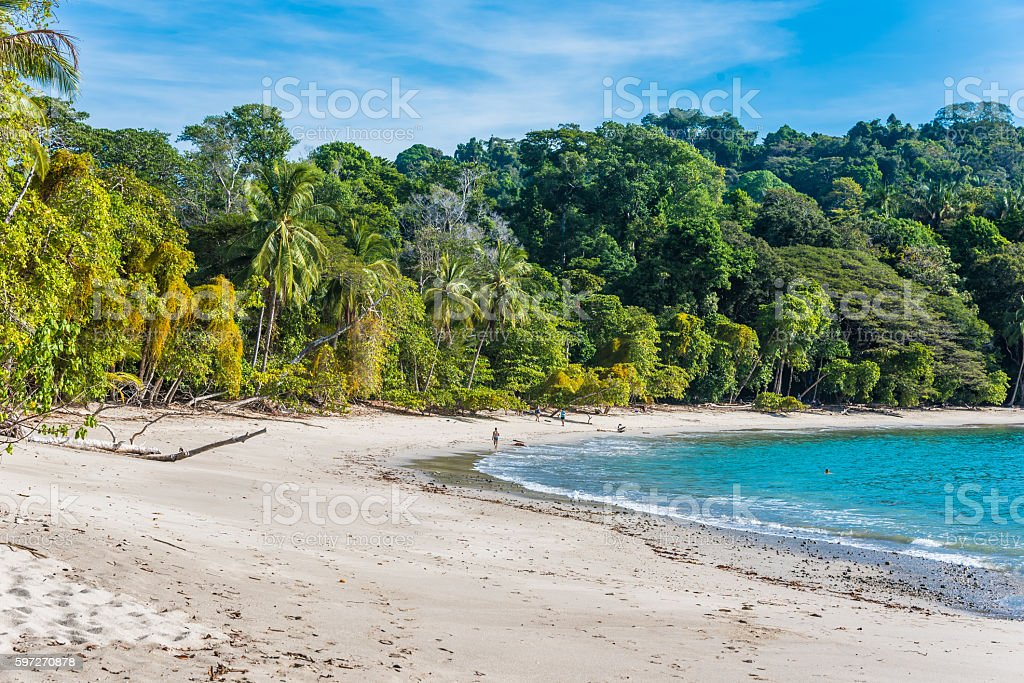 Manuel Antonio, Costa Rica - beautiful tropical beach royalty-free stock photo