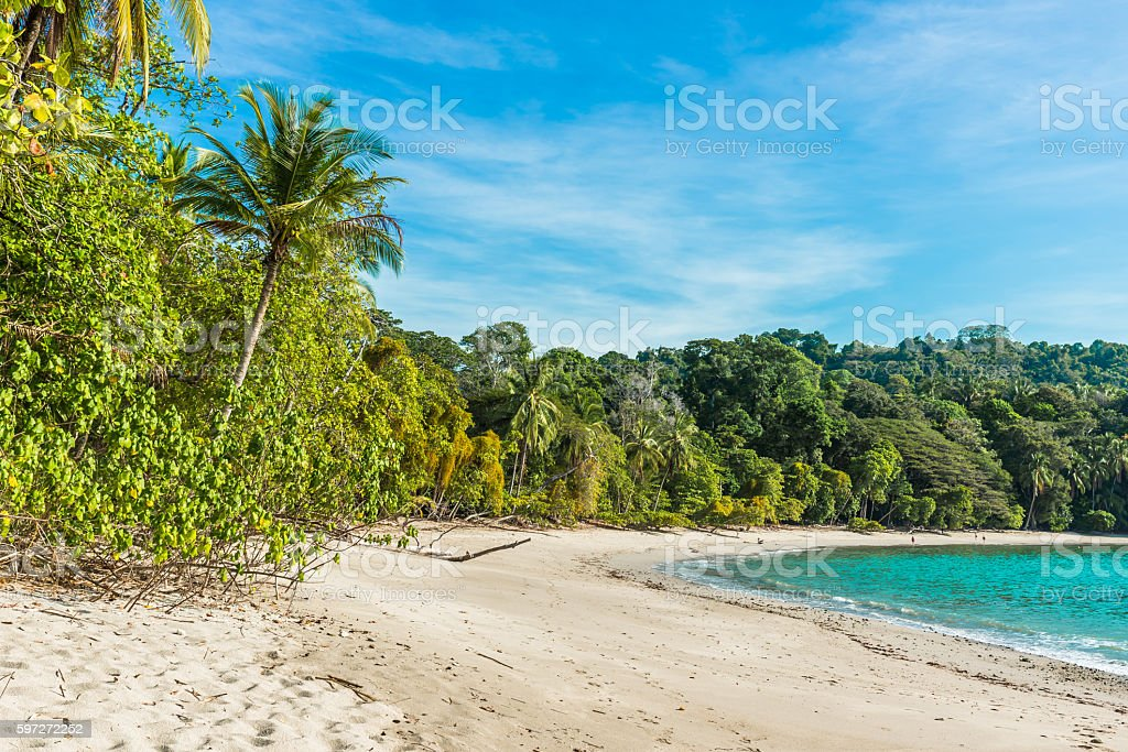 Manuel Antonio, Costa Rica - beautiful tropical beach royalty-free stock photo