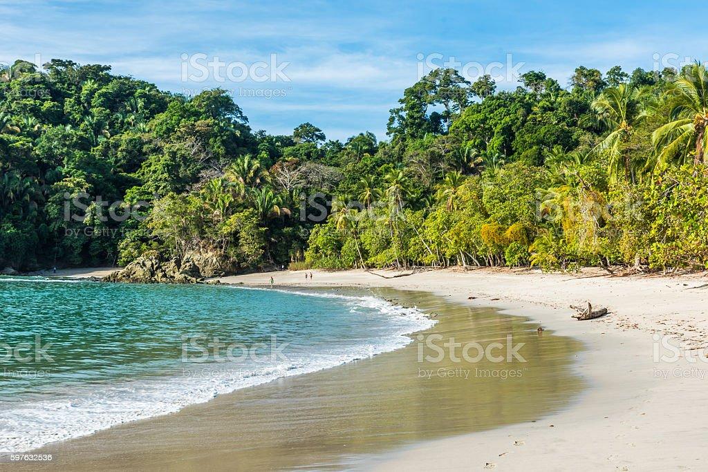 Manuel Antonio, Costa Rica - beautiful tropical beach stock photo