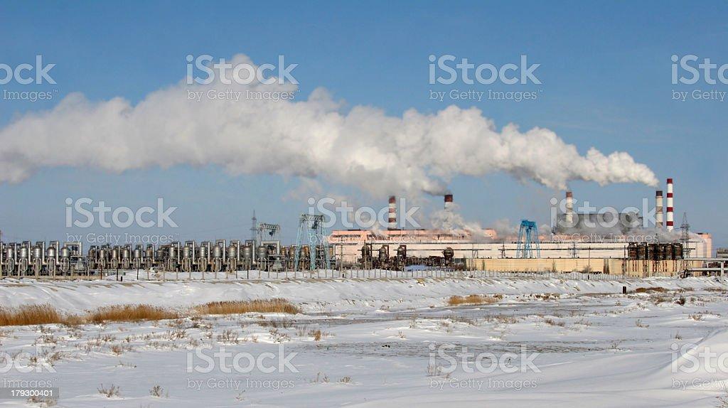 Manufacture of Kazakhstan stock photo