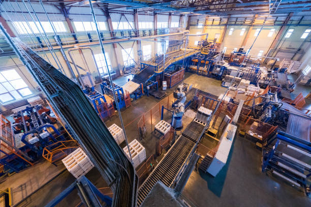manufacturing factory - factory stock photos and pictures