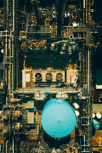 Manufacturing plant in Hong Kong.