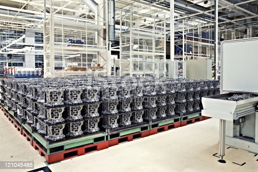 538617741istockphoto A manufacturing shop for engine parts 121045485