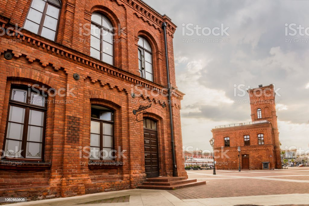 Manufaktura in Lodz - Amazing Building with Red Bricks