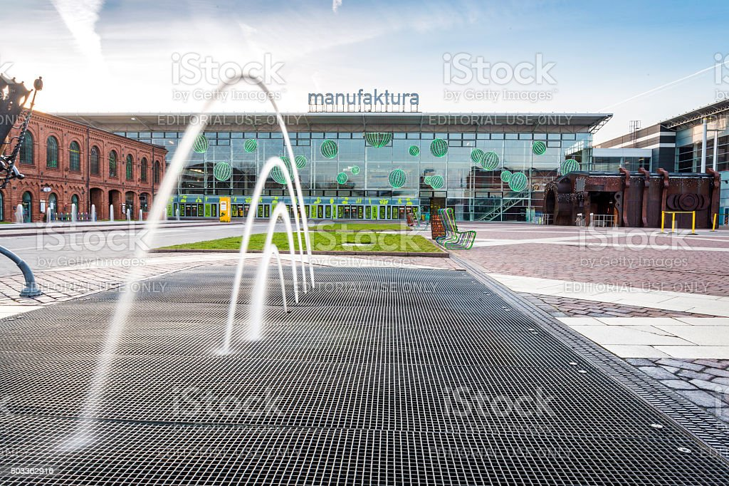 Manufaktura Shopping Mall, Lodz, central Poland