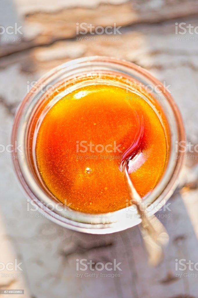 Manuka healthy honey stock photo