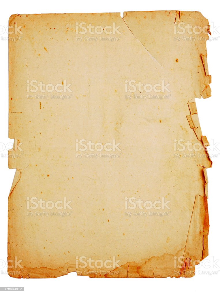 Manuscript stock photo
