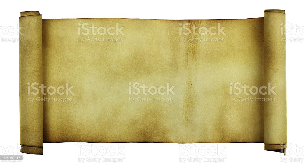Manuscript royalty-free stock photo