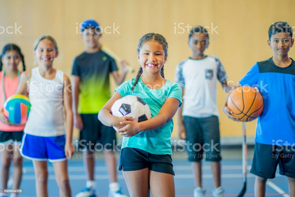Many Activities stock photo
