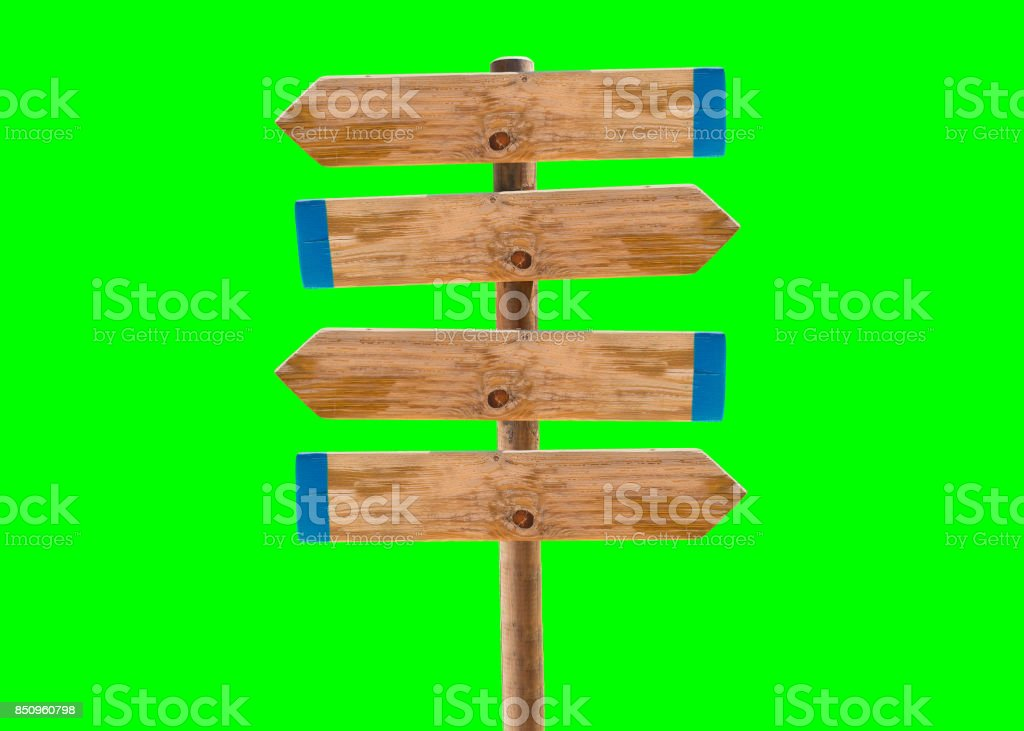 many arrows sign
