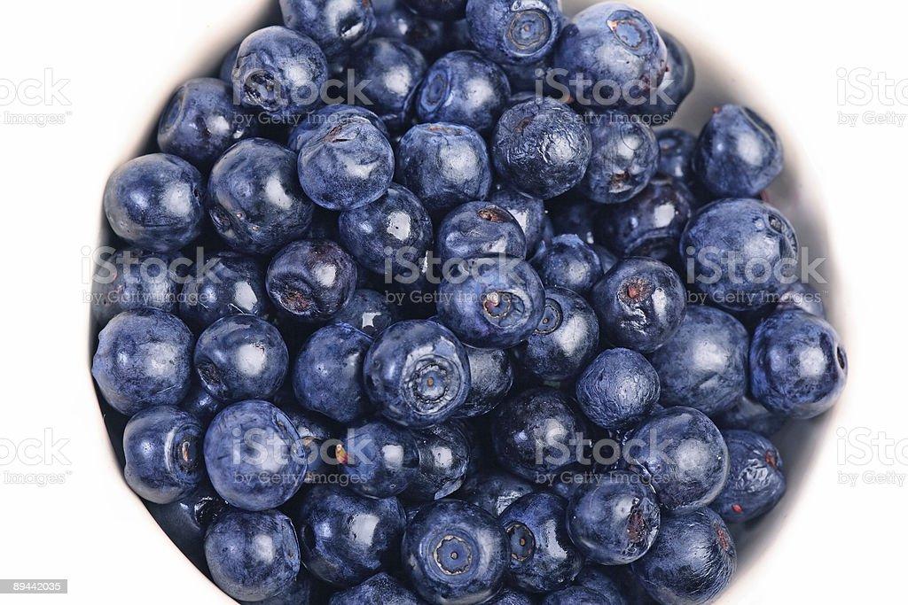 Many blueberrys royaltyfri bildbanksbilder