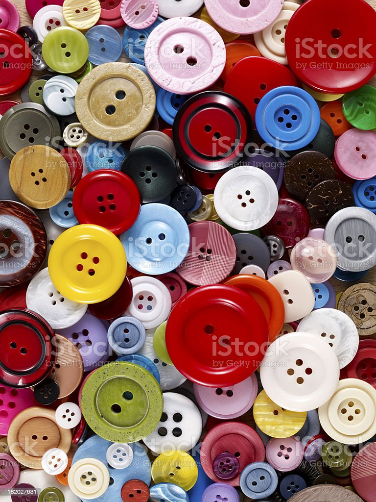Many Buttons royalty-free stock photo