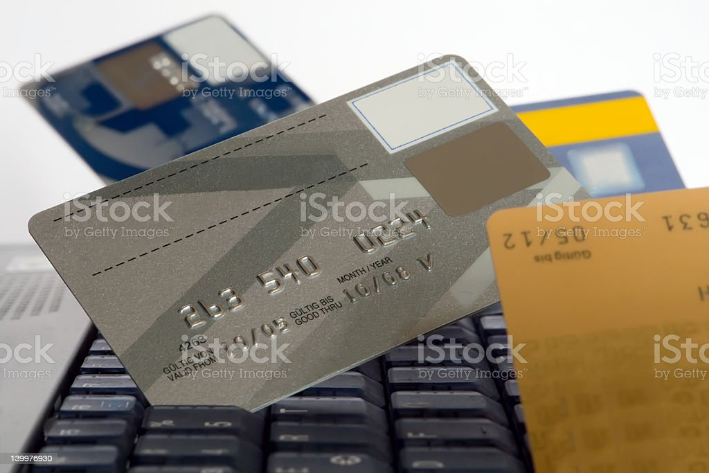 many credit cards royalty-free stock photo