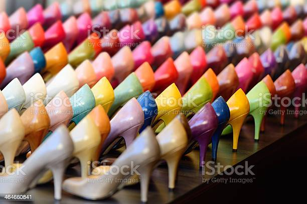 Many different colored heels on display picture id464660841?b=1&k=6&m=464660841&s=612x612&h=yqrddogu7pi5kte0ubu1ptoa43v3lrbdgvdbtczs9qs=