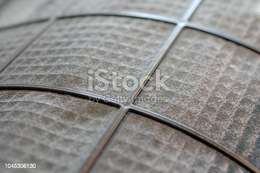 istock Many dirty dust on the air filter wall 1045306130