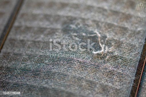 istock Many dirty dust on the air filter wall 1045728048