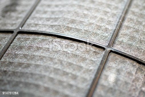 istock Many dirty dust on the air filter wall 914751284