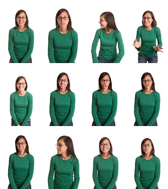 nombreuses expressions - image multiple photos et images de collection