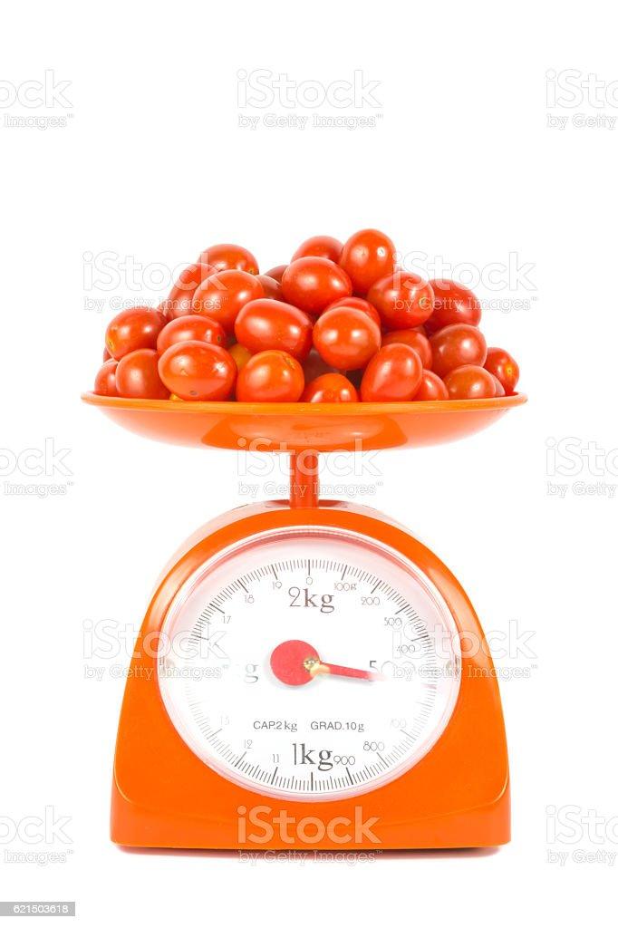 many fresh small tomato photo libre de droits