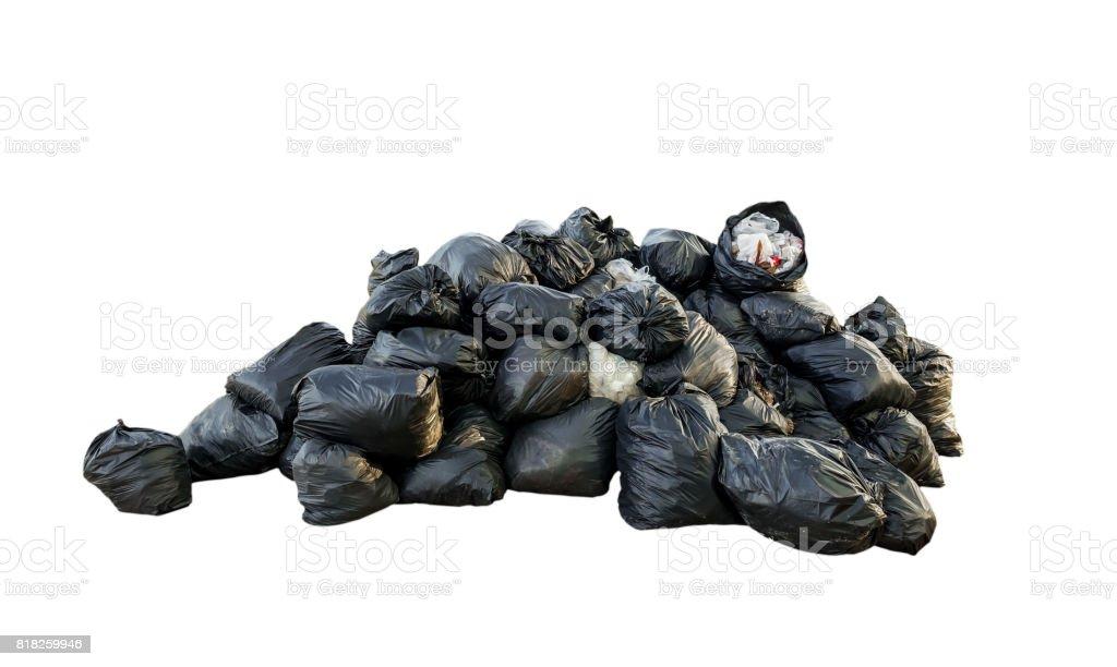Viele Müllsack – Foto