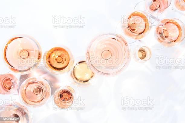 Many glasses of rose wine at wine tasting concept of rose wine and picture id680200396?b=1&k=6&m=680200396&s=612x612&h=hib9sllus3l2kb4zpkolgnul3g a bl34 oipijq0oc=