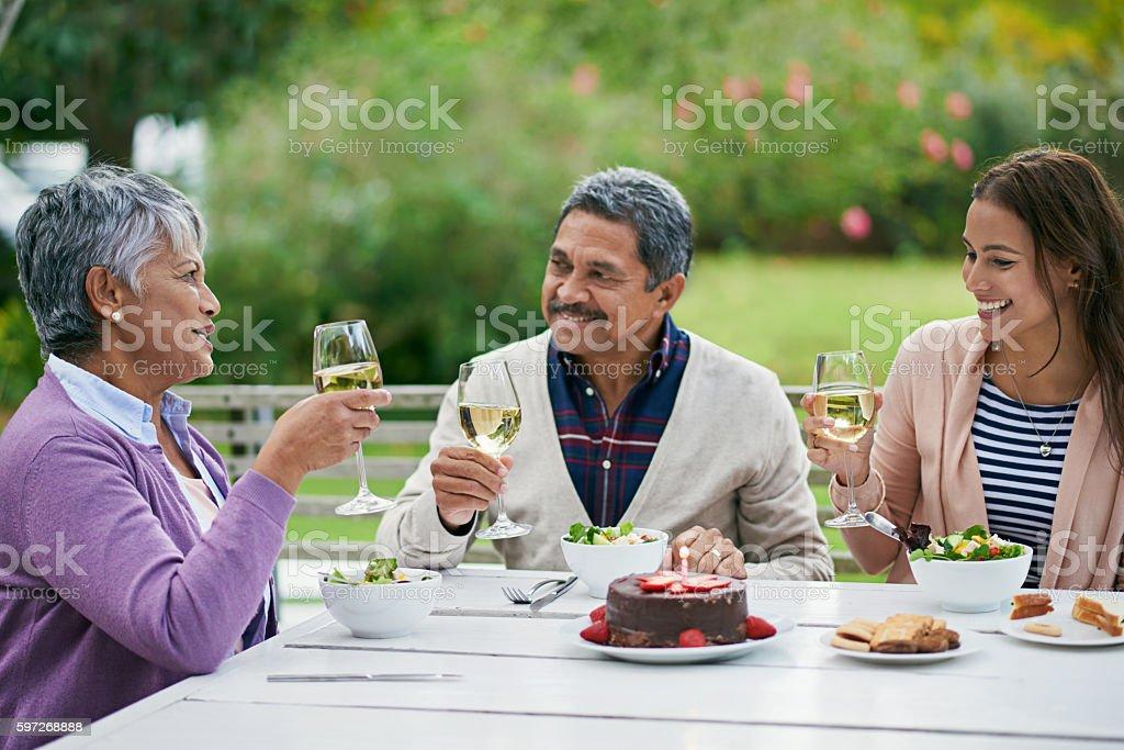 Many happy returns, my dear! Lizenzfreies stock-foto