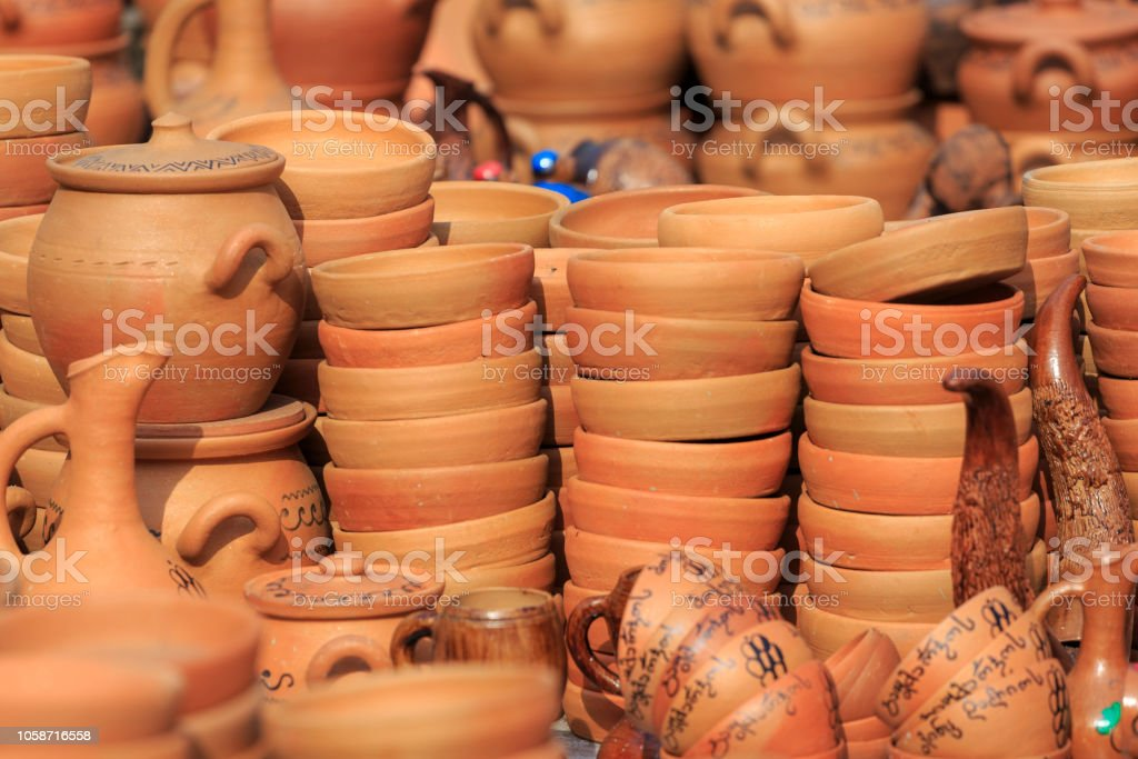 Many homemades of clay products