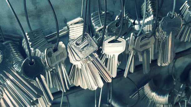 Many key Many key used for copying keys is a spare key.locksmith locksmith stock pictures, royalty-free photos & images