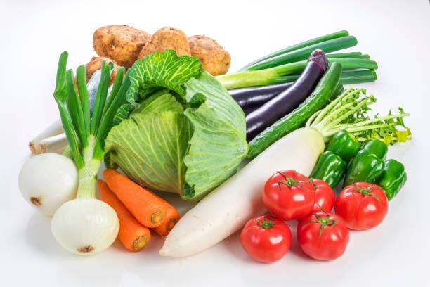 多くの種類の野菜 - 野菜 ストックフォトと画像