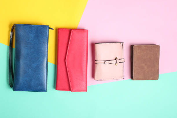 多くのレザー財布 - 財布 ストックフォトと画像