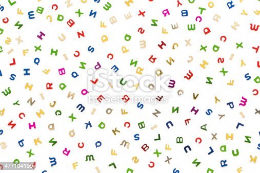 513565925istockphoto Many letters of various colors 477104199