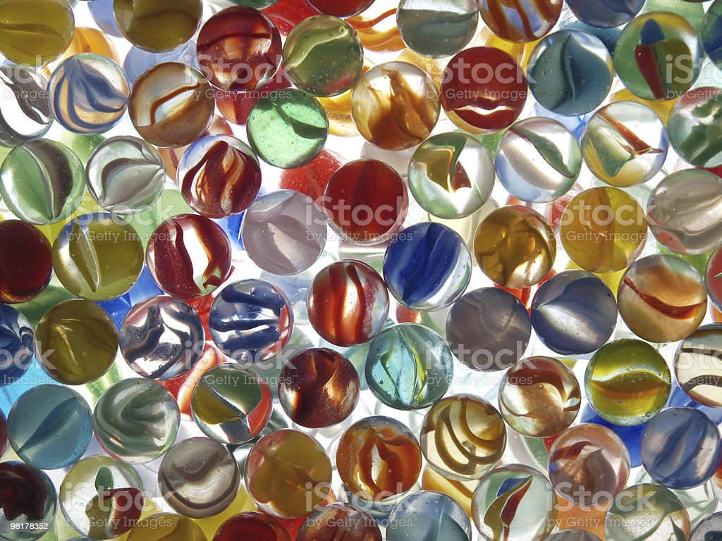 Many Marbles royalty-free stock photo