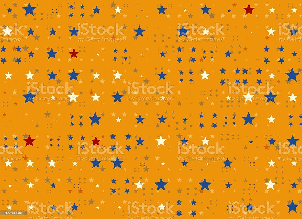 many multicolored stars background. holiday symbol stock photo
