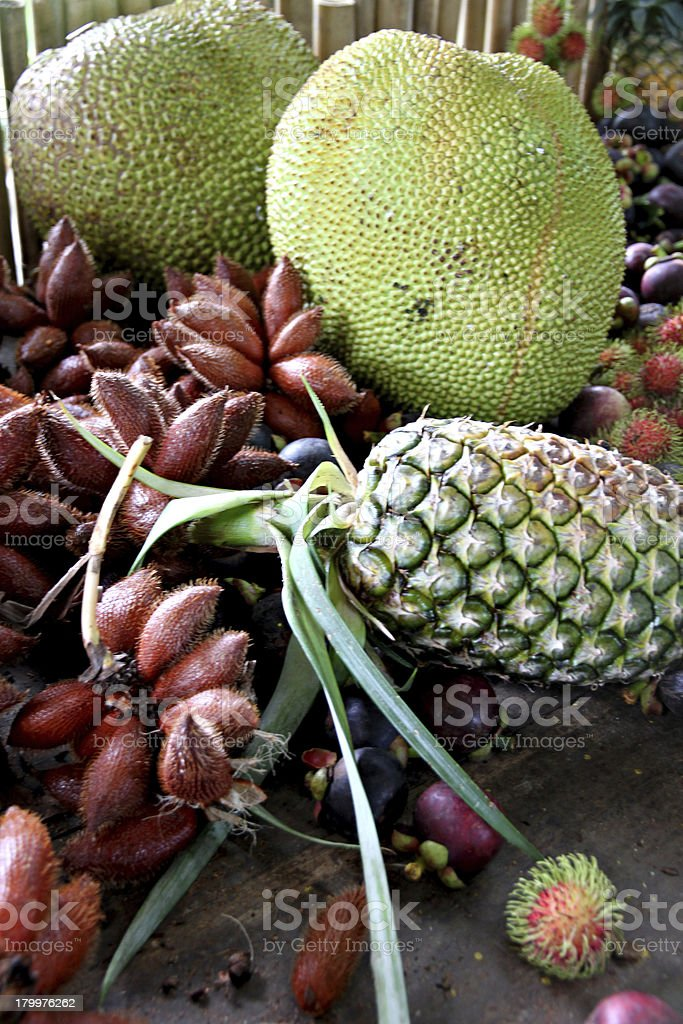 Many of fruits on the table. royalty-free stock photo
