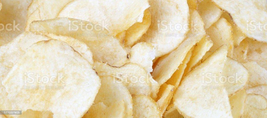 many of potato chips royalty-free stock photo