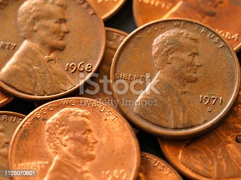 1968 and 1971 coins