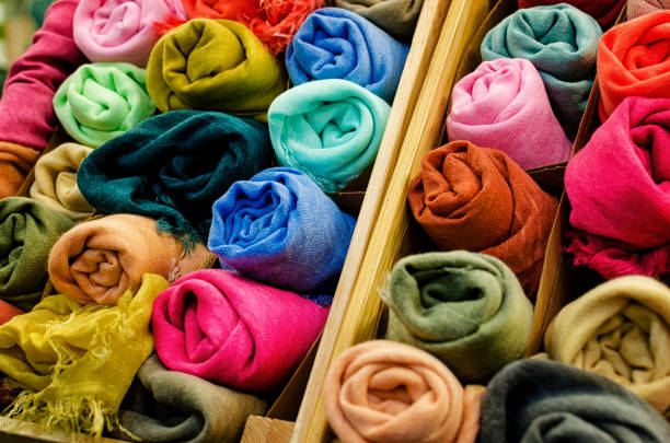 Many pashmina foulards rolled up picture id667894458?b=1&k=6&m=667894458&s=612x612&w=0&h=fwzon16rby2ngp1e2f1kmem4rtlqdi6hvoz0 blkusk=