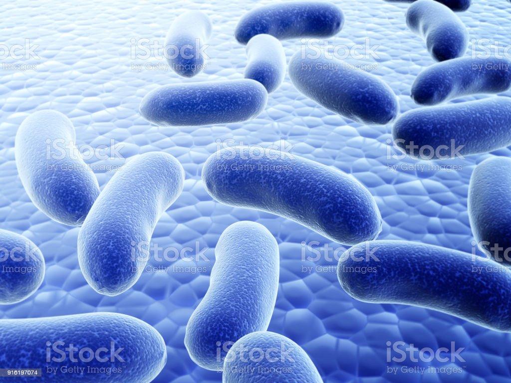 Veel pathogene virussen foto