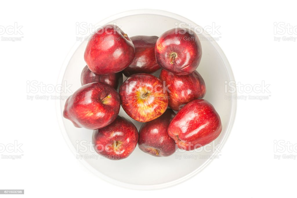 many red fresh apples foto stock royalty-free