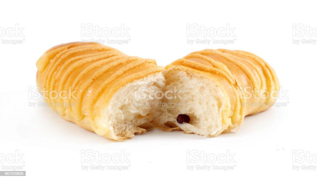 muitos pães de pau no fundo branco - Foto de stock de Amarelo royalty-free